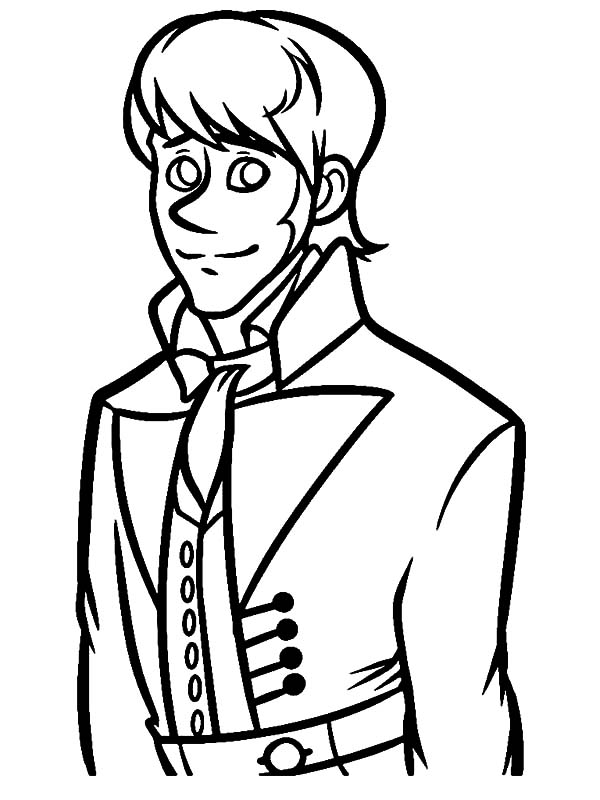 600x800 Drawing Prince Hans Coloring Pages Drawing Prince Hans Coloring
