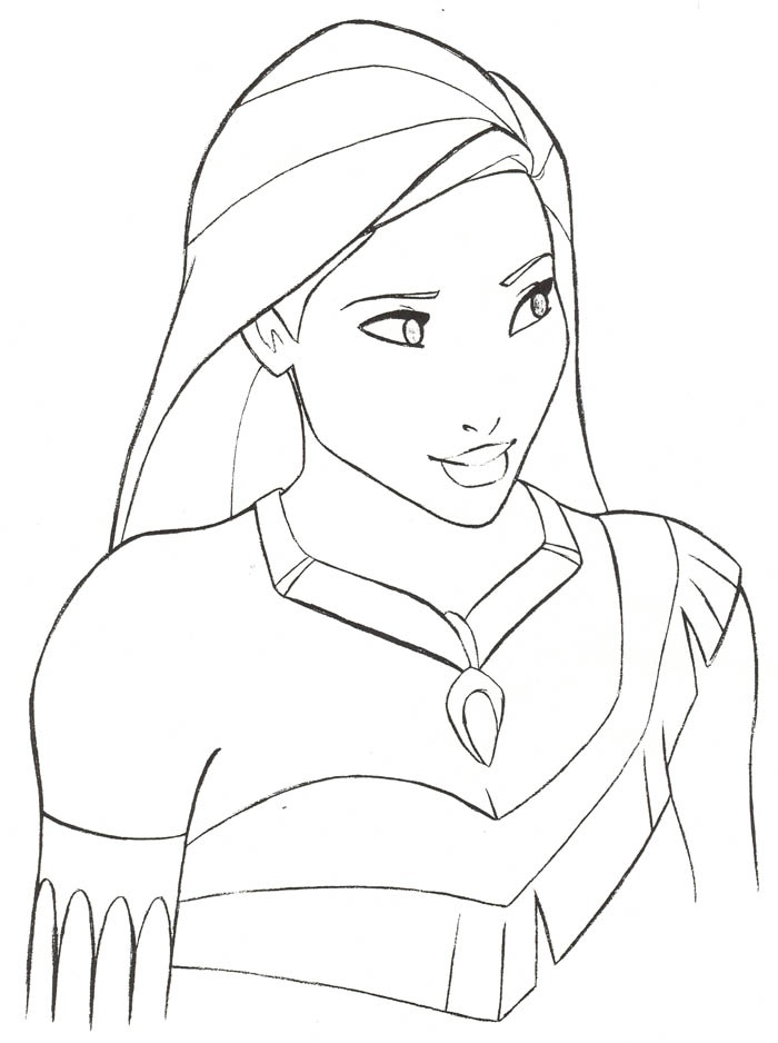700x938 Pocahontas Drawing Disney Art, Pocahontas Drawings Coloring