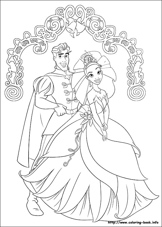 567x794 Free Coloring Pages Disney Princess And The Frog