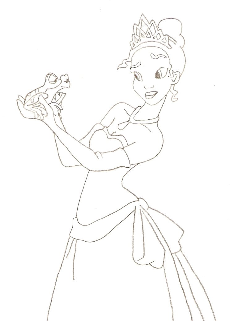 770x1038 Princess And The Frog By Osireion87