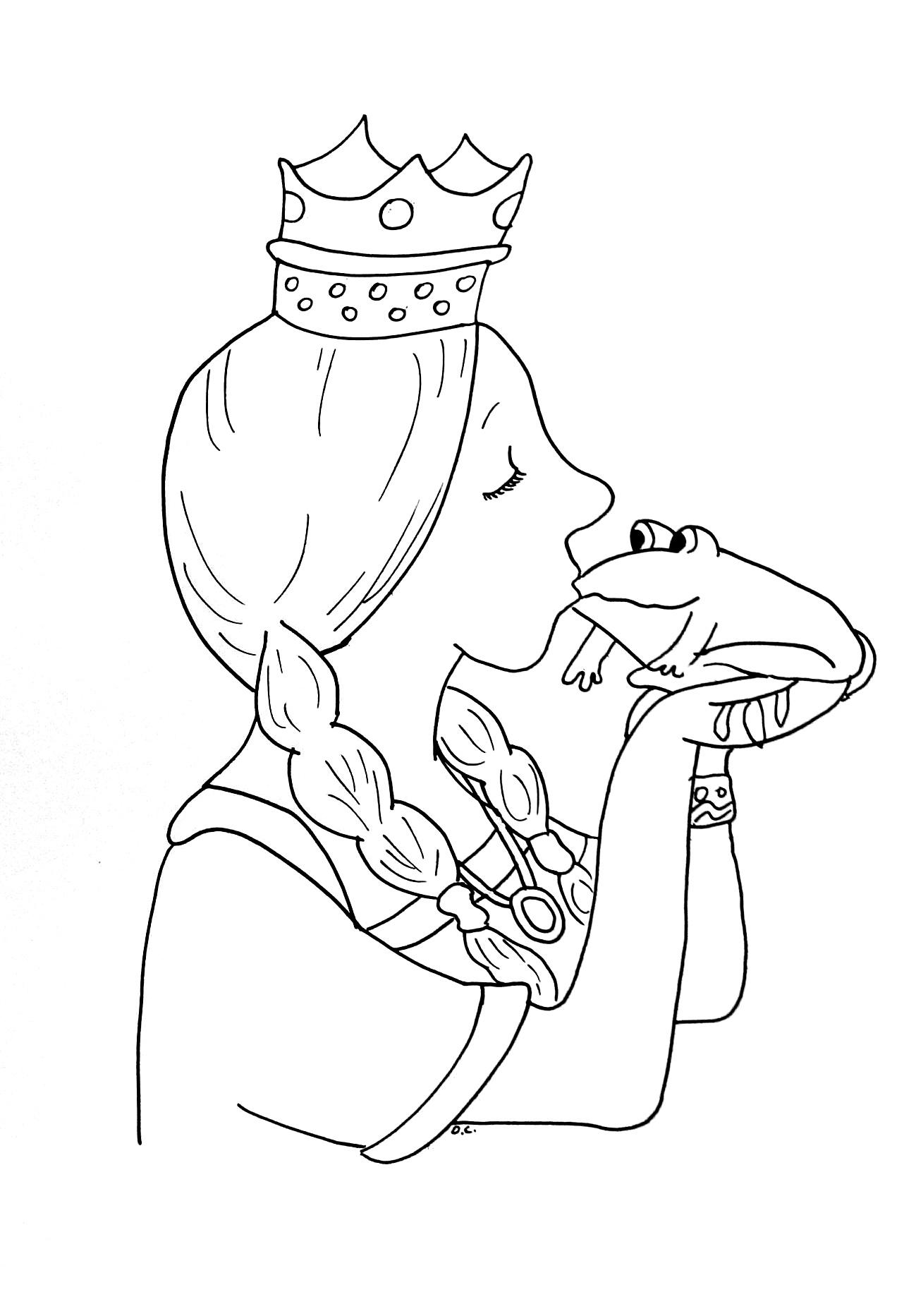 1299x1865 Princess Frog Fairy Tales