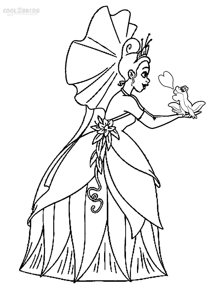 Princess And Frog Drawing at GetDrawings.com | Free for personal use ...