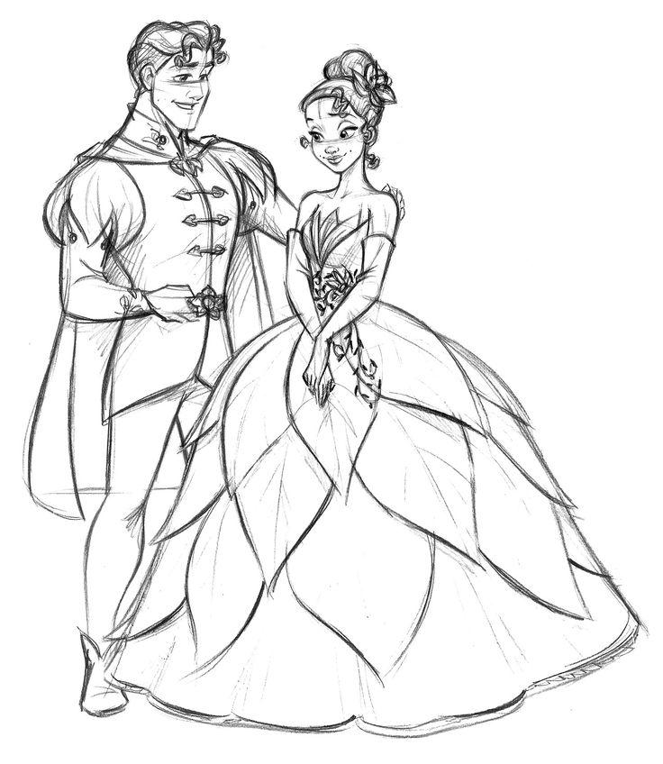 736x848 Drawn Princess Fairytale Princess