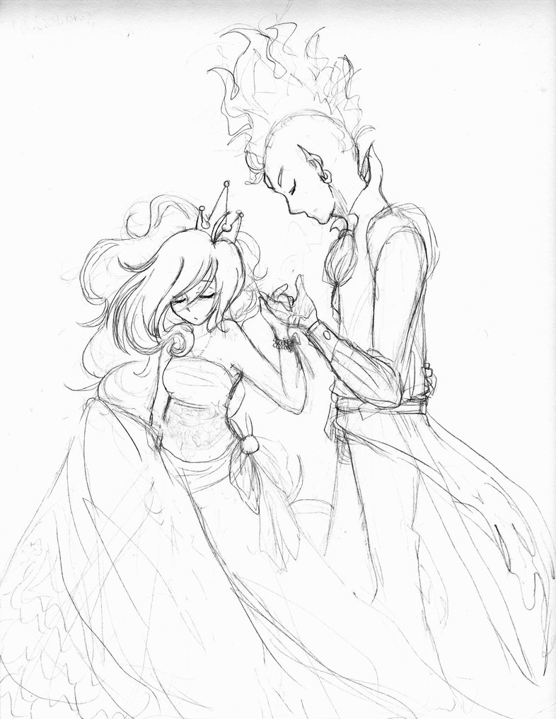 786x1017 My Princess, Her Prince By Princess Hylian