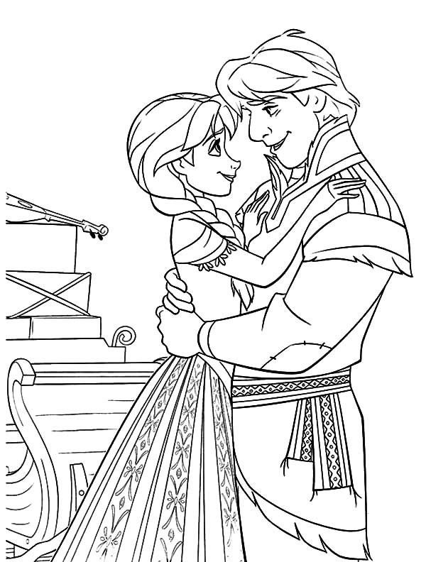600x792 Prince Hans And Princess Anna Coloring Pages Prince Hans And