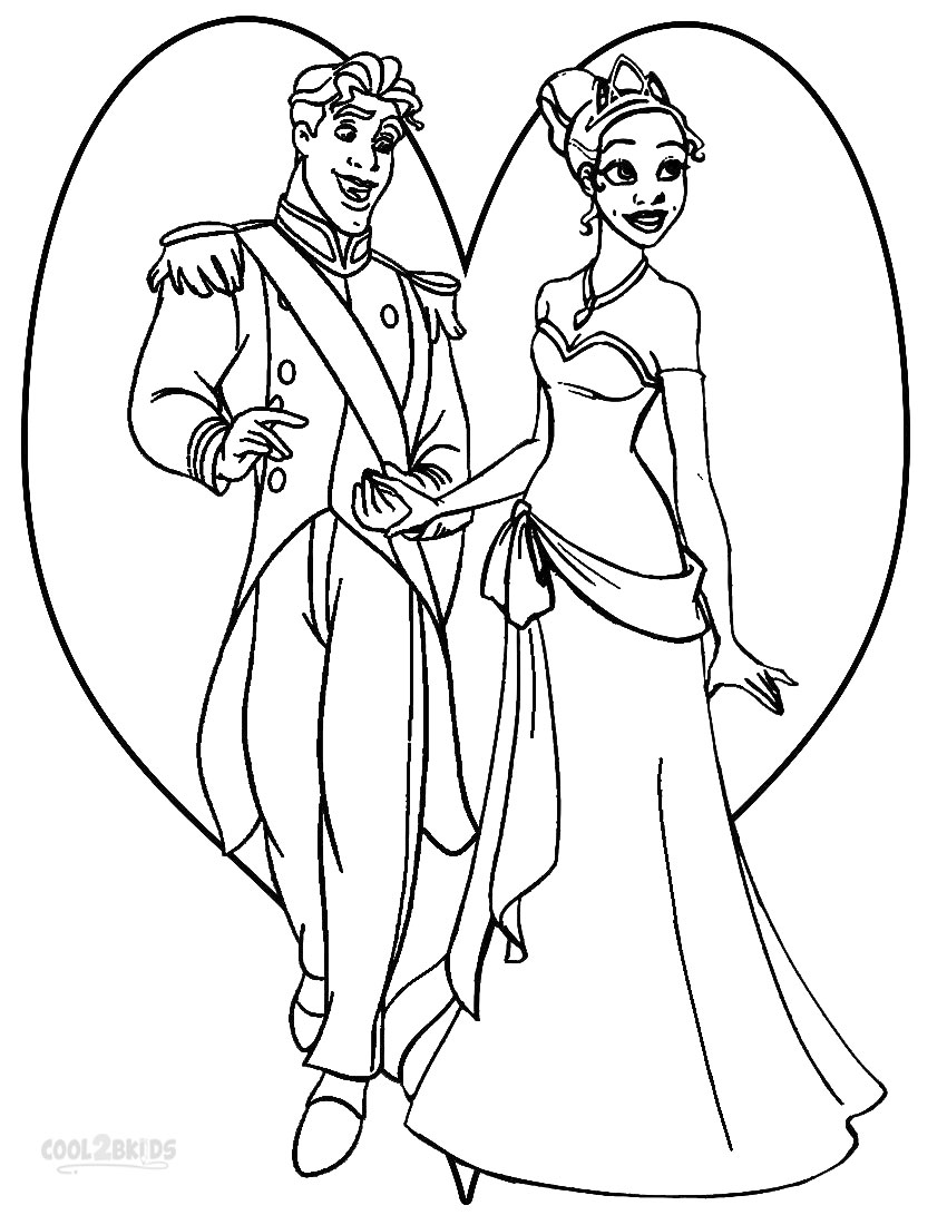 850x1100 coloring pages princess tiana coloring pages 2 princess tiana - Prince Coloring Pages 2