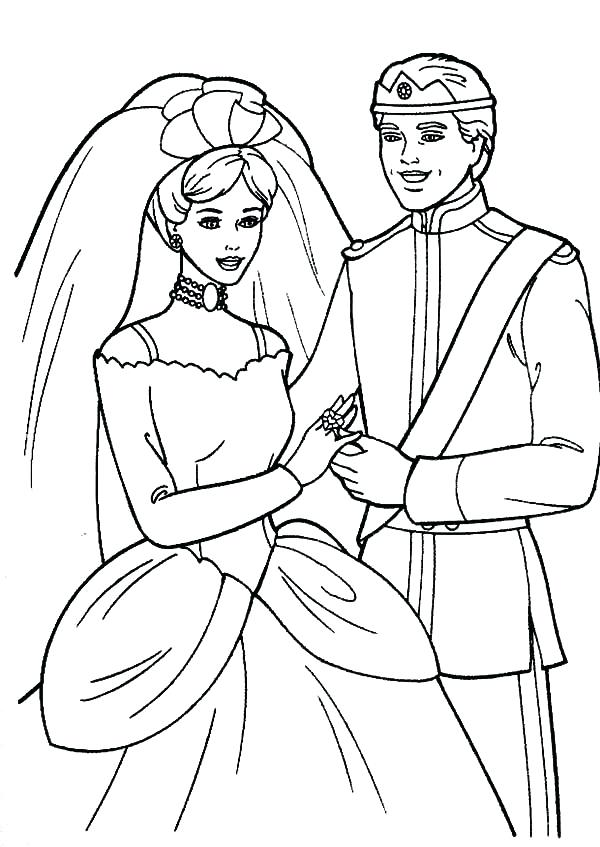 600x847 This Is Princess Coloring Page Pictures Barbie Doll Dress Prince