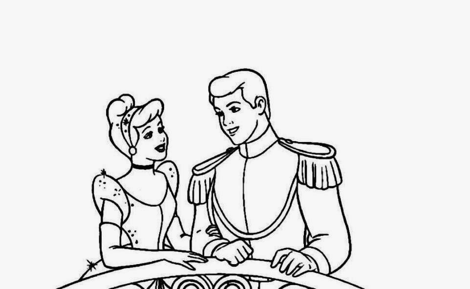 962x592 Colour Drawing Free Hd Wallpapers Ariel And Prince Coloring Page