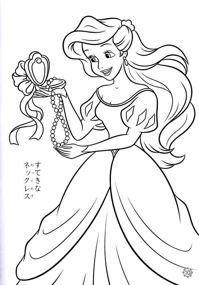 687x984 Coloring Pages Ariel Medium Size Of Coloring Coloring Page Draw