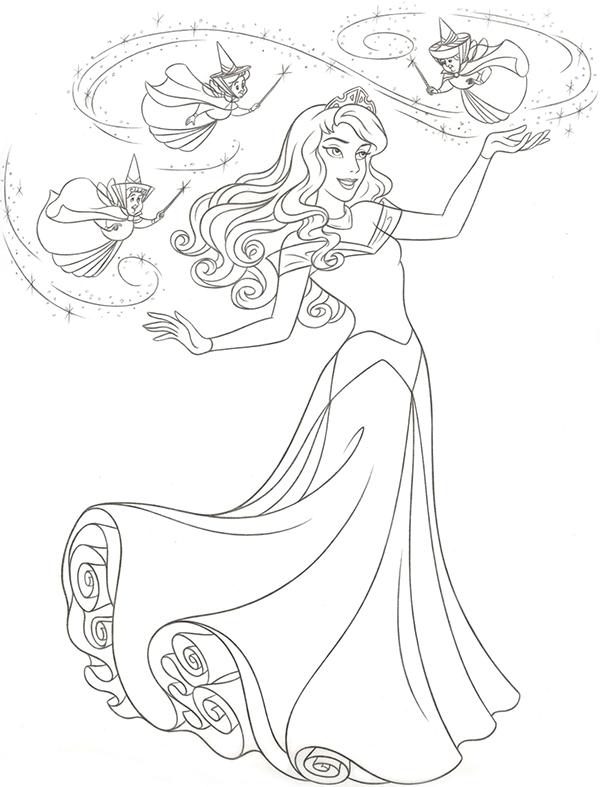600x787 Disney Princess Novo Redesenho