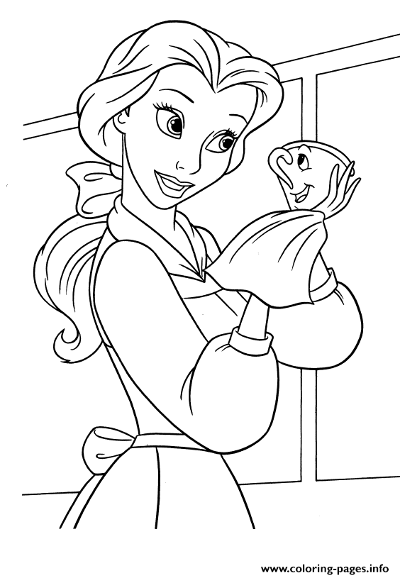 Princess Belle Drawing At Getdrawings Com Free For Personal Use