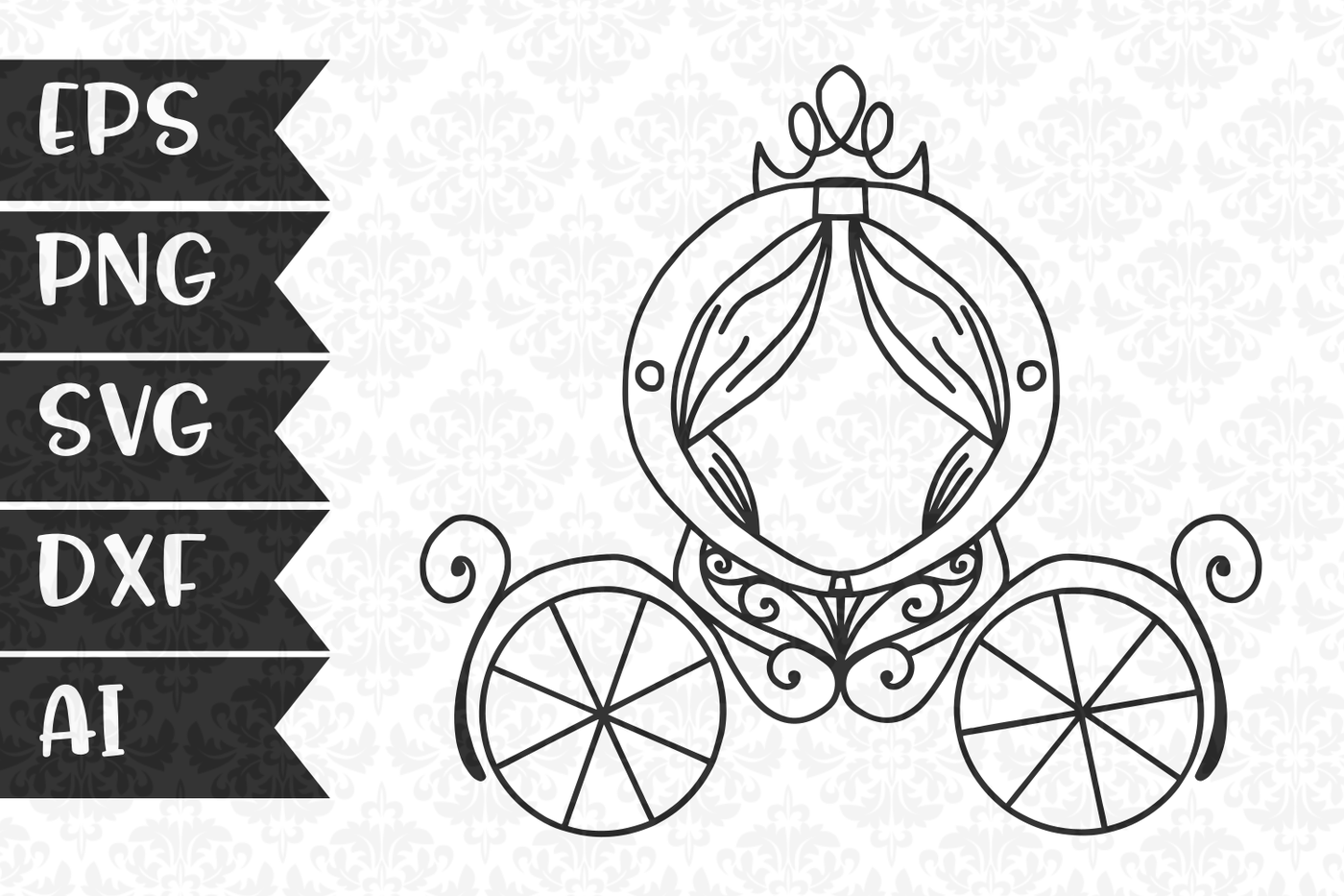 1400x933 Princess Carriage By Craftylittlenodes