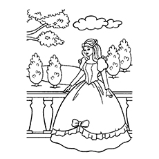 230x230 Top 25 Free Printable Princess Coloring Pages Online