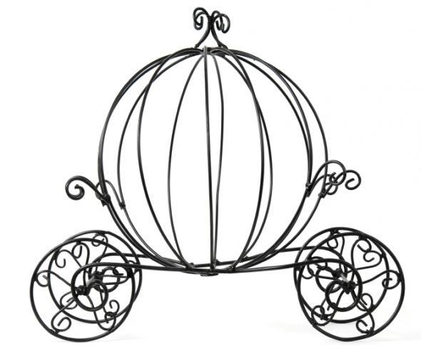590x500 Cinderella Carriage Centerpiece Wedding Ideas