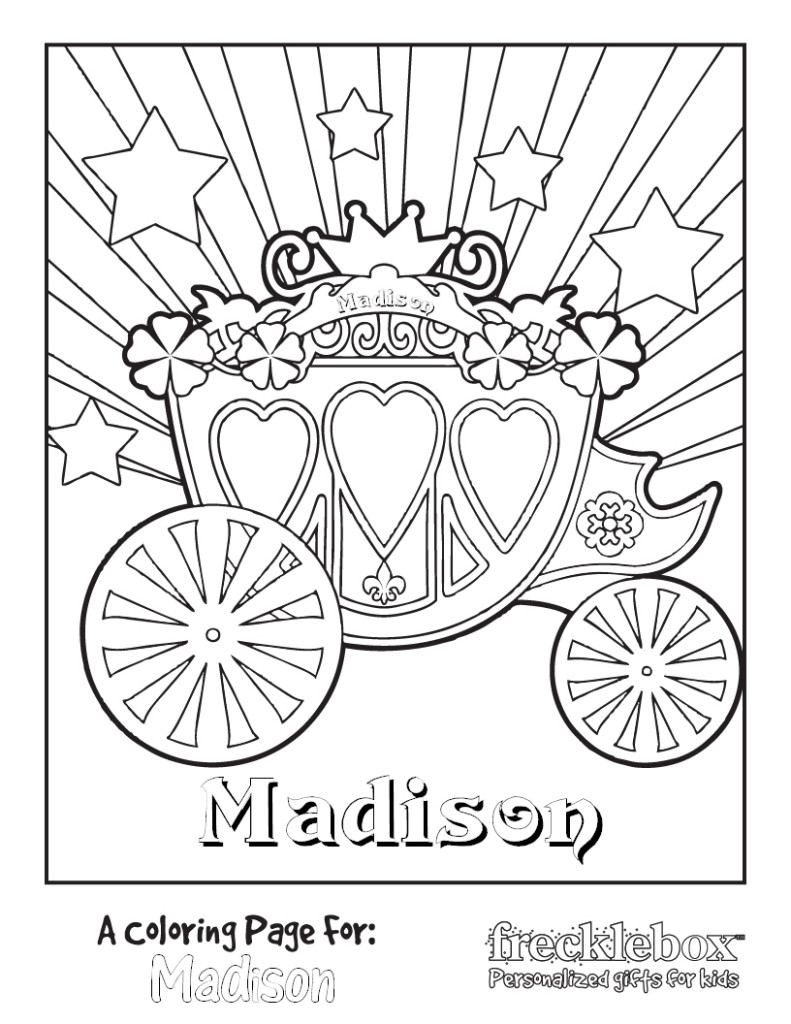 791x1024 Carriage Coloring Pages