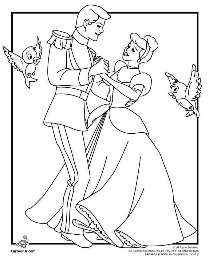 Princess Cinderella Drawing