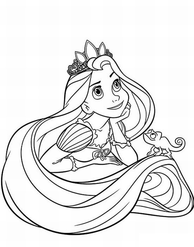 629x800 Disney Princesses Coloring Pages To Print For Free Colouring Cure