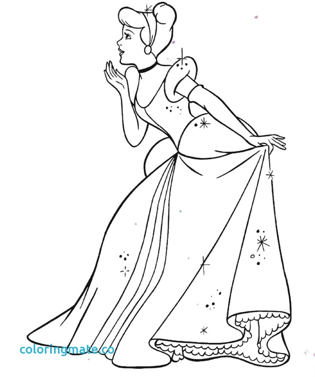 646x774 Cinderella Coloring Pages Inspirational How To Draw Cinderella