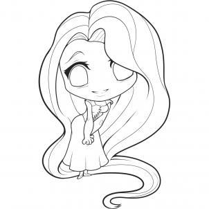 302x302 How To Draw Chibi Disney Princess Cute Kawaii Resources