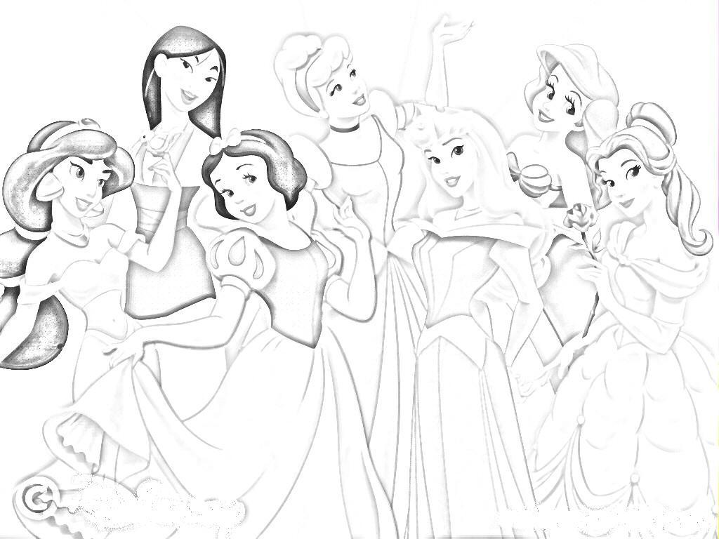 1024x768 Pencil Drawings Of Disney Cartoon Characters Sketches Of Disney