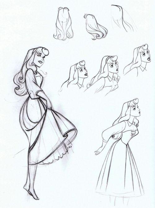 500x671 Disney Sleeping Beauty Disney Princess Disney Drawing Disney