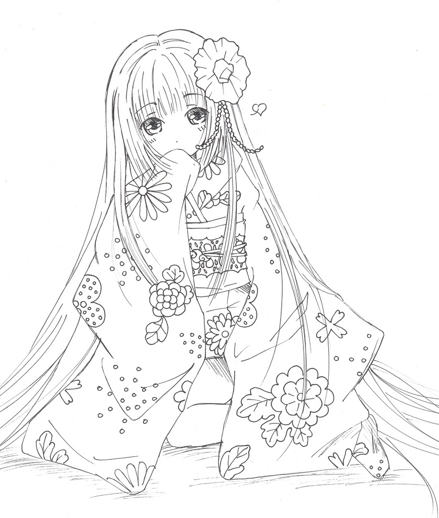 868x1024 Princess Miu A Very Quick Sketch, I Keep Drawing Miu I