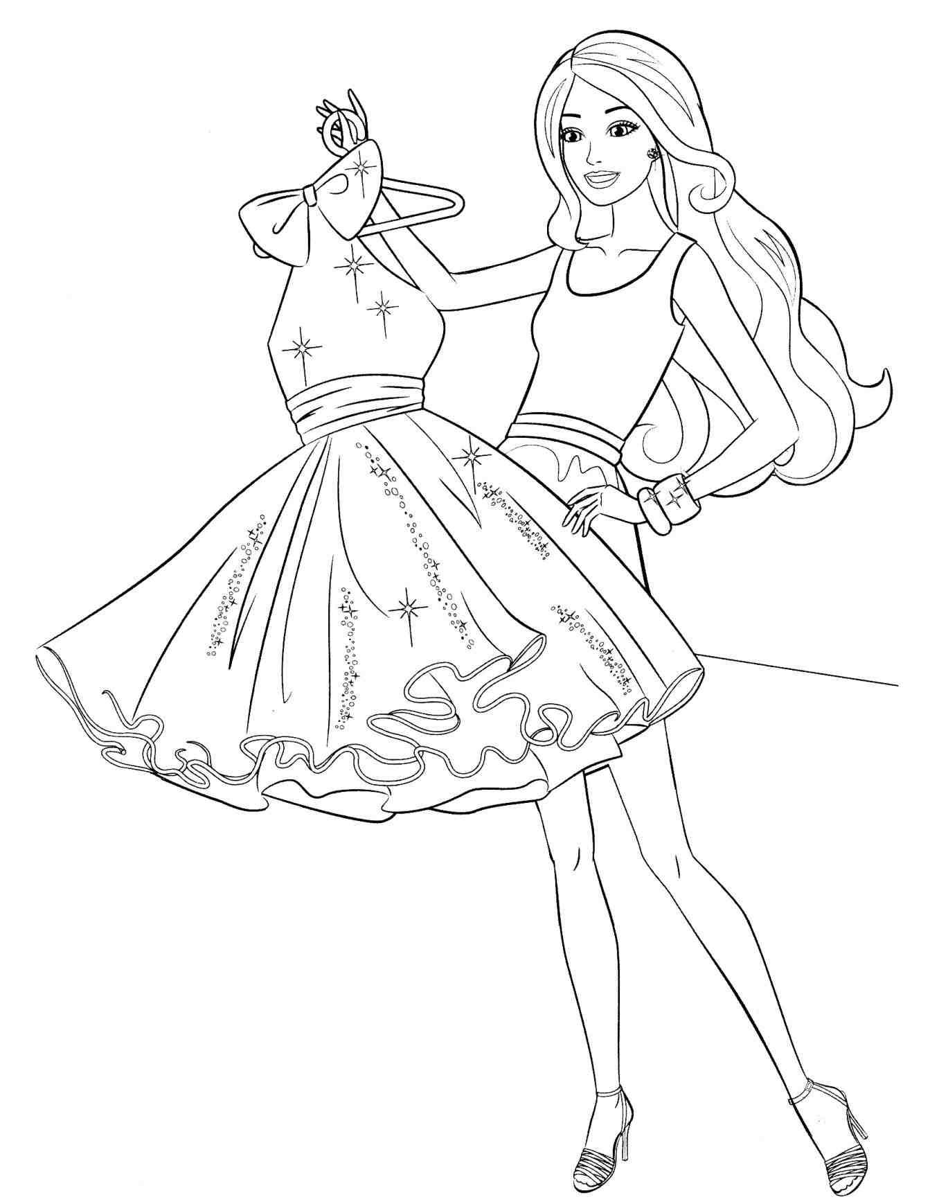 1343x1738 How To Draw Barbie Princess Charm School Step By Step Easy To Draw