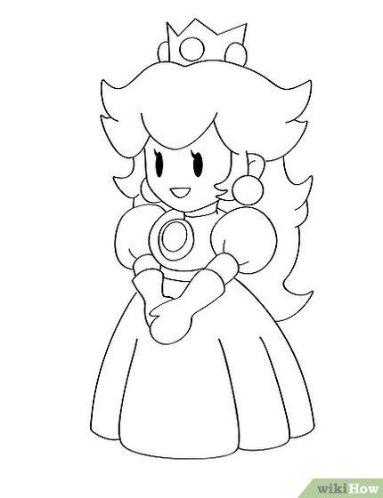 430x560 Photos Easy To Draw Princess Peach,