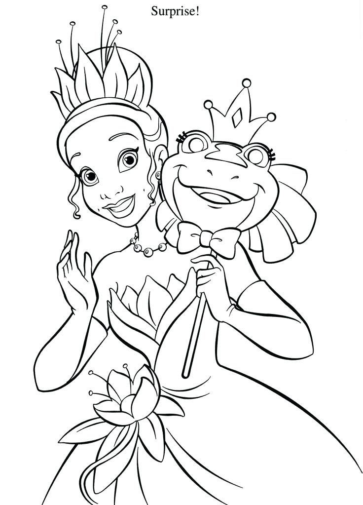 easy princess coloring pages - photo#13
