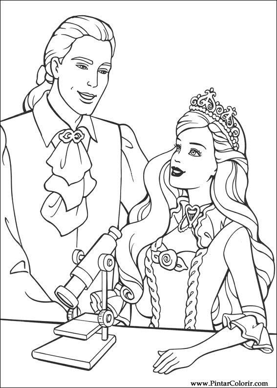 567x794 Drawings To Paint Amp Colour Barbie Princess