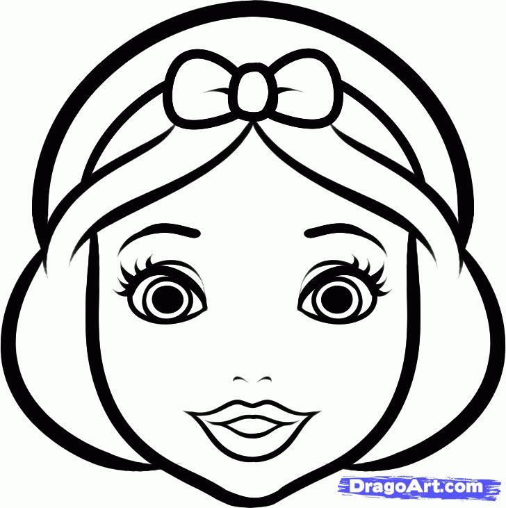728x731 Drawn Princess Easy
