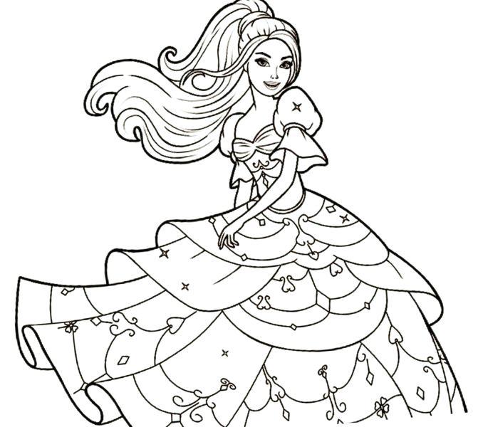 678x600 Free Barbie Printable Coloring Pages Barbie Printable Coloring