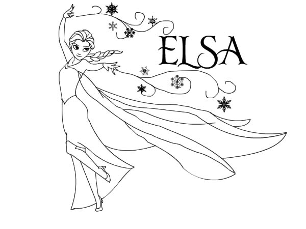 Princess Elsa Drawing at GetDrawings.com | Free for personal use ...