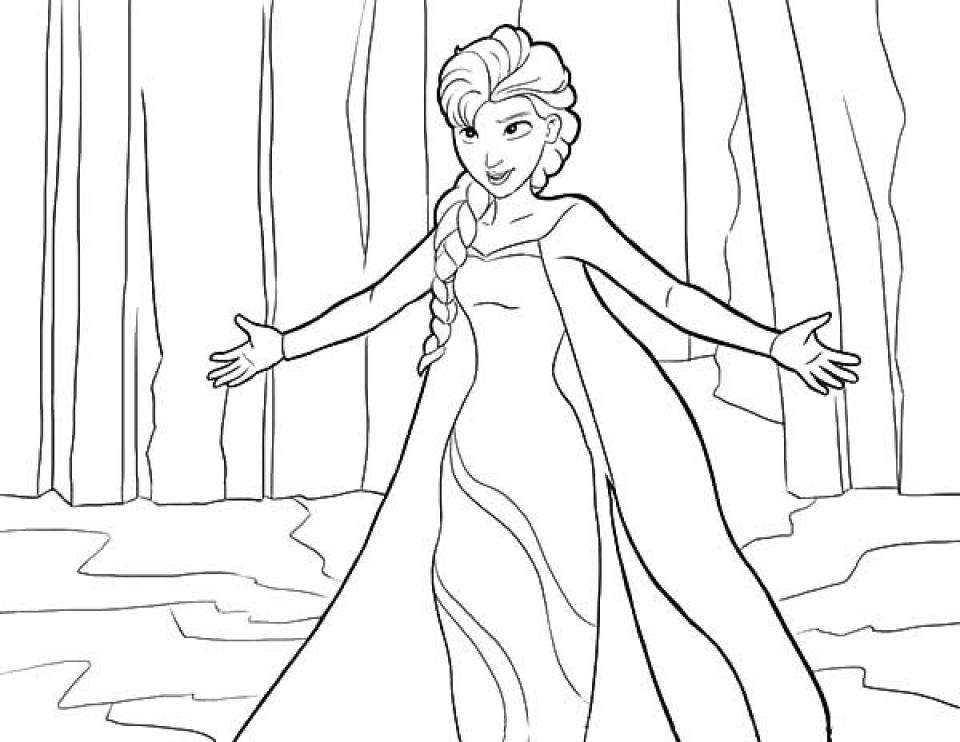 960x742 Get This Disney Princess Elsa Coloring Pages Free To Print Tamne1 !