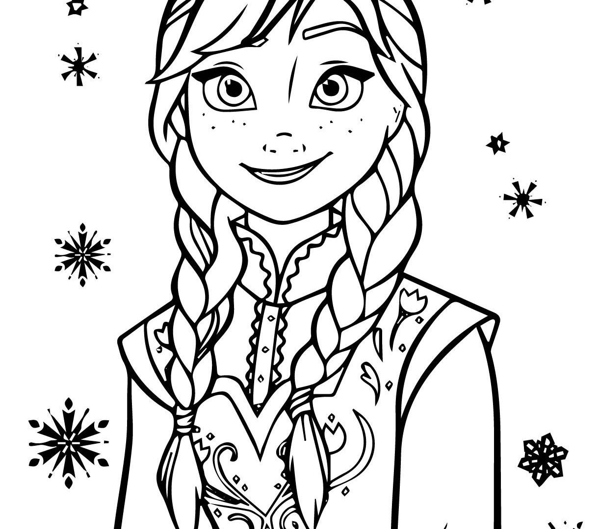 1221x1080 Anna Elsa Hugging Coloring Page Printable Pages For Kids Frozen
