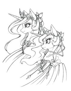 236x299 Princess Luna And Nightmare Moon Wallpaper Mlp