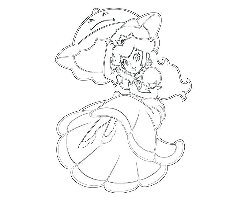 800x667 Peach Coloring Page Princess Peach Coloring Pages Peach Coloring