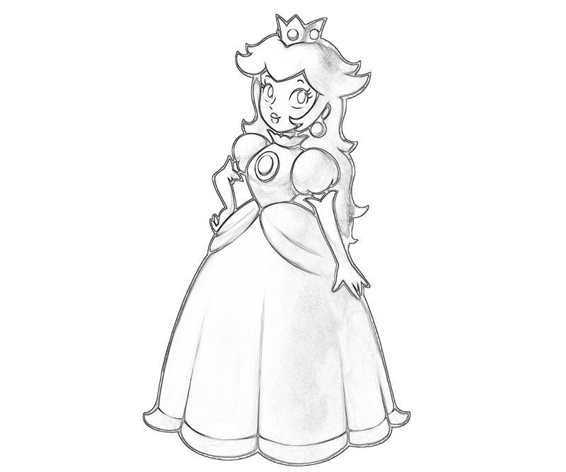 800x667 Princess Peach Peach Character Jozztweet
