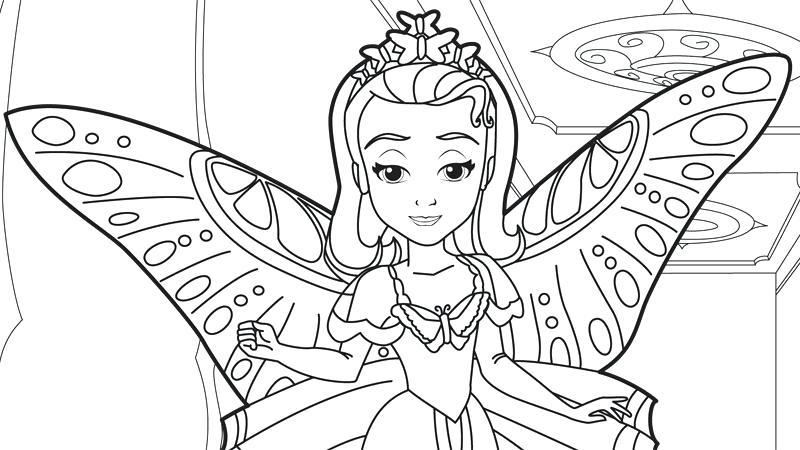 800x450 Princess Sofia Coloring Pages Coloring Pages Plus Junior Princess