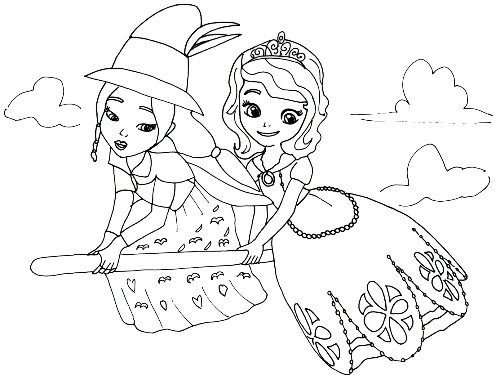 1600x1225 Princess Sofia Drawing Sofia The First Coloring Pages Lucinda