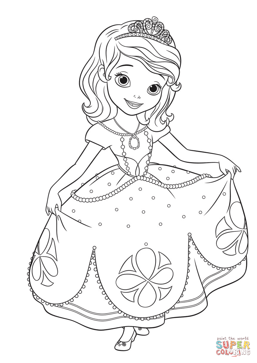 princess sofia drawing at getdrawings free