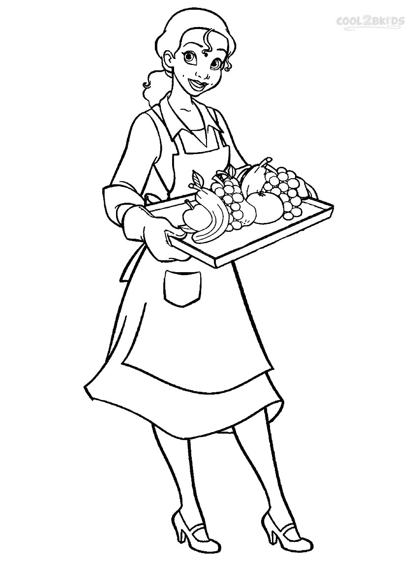 Princess Tiana Drawing at GetDrawings.com | Free for personal use ...