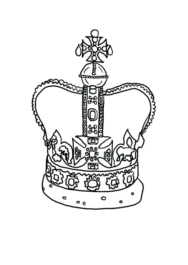 600x844 Princess Crown Coloring Page Free Princess Crown Coloring Pages