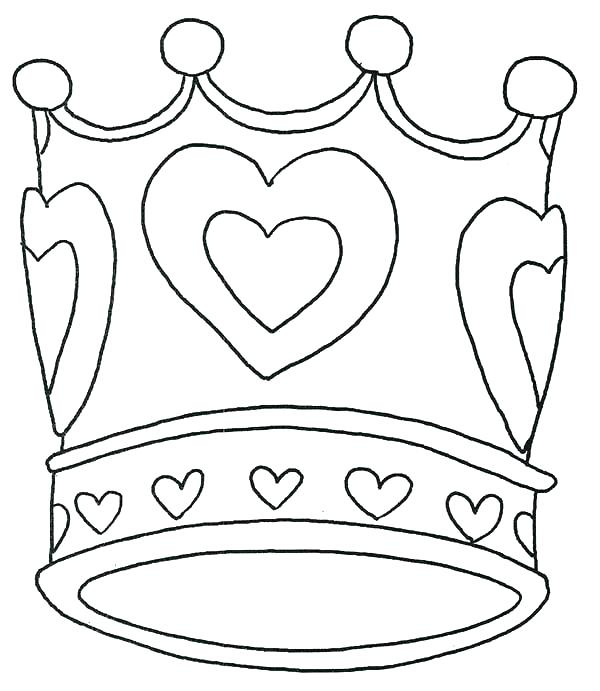 600x691 Princess Crown Coloring Page Princess Crown Coloring Page Princess