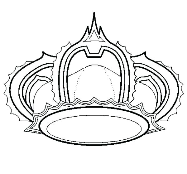 600x558 Princess Crown Coloring Page Tiara Coloring Pages Princess Crown