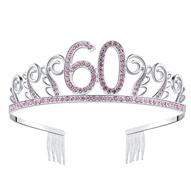 385x385 Babeyond Crystal Rhinestone Tiara Princess Crown Birthday Crowns