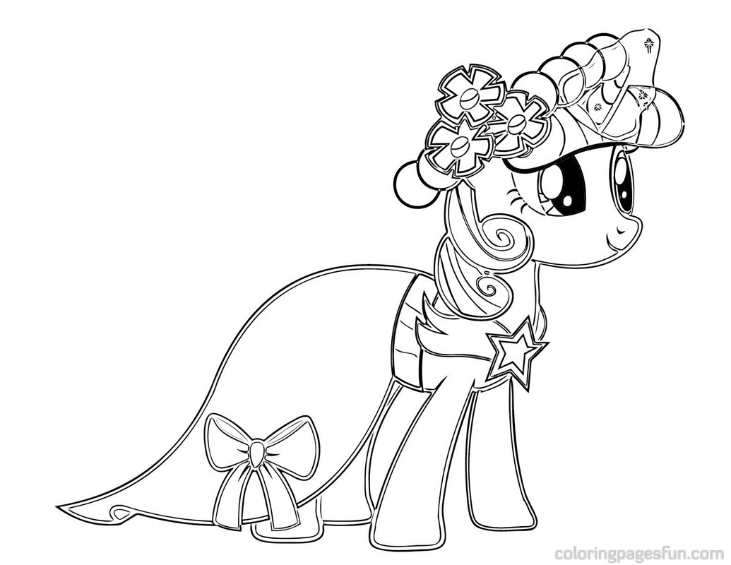 1035x800 My Little Pony Coloring Pages Twilight Sparkle Castle My Style