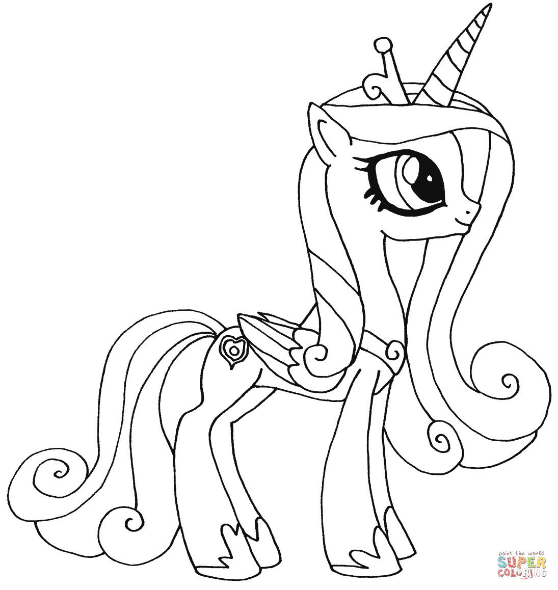 Princess Twilight Sparkle Drawing At Getdrawings Com Free For