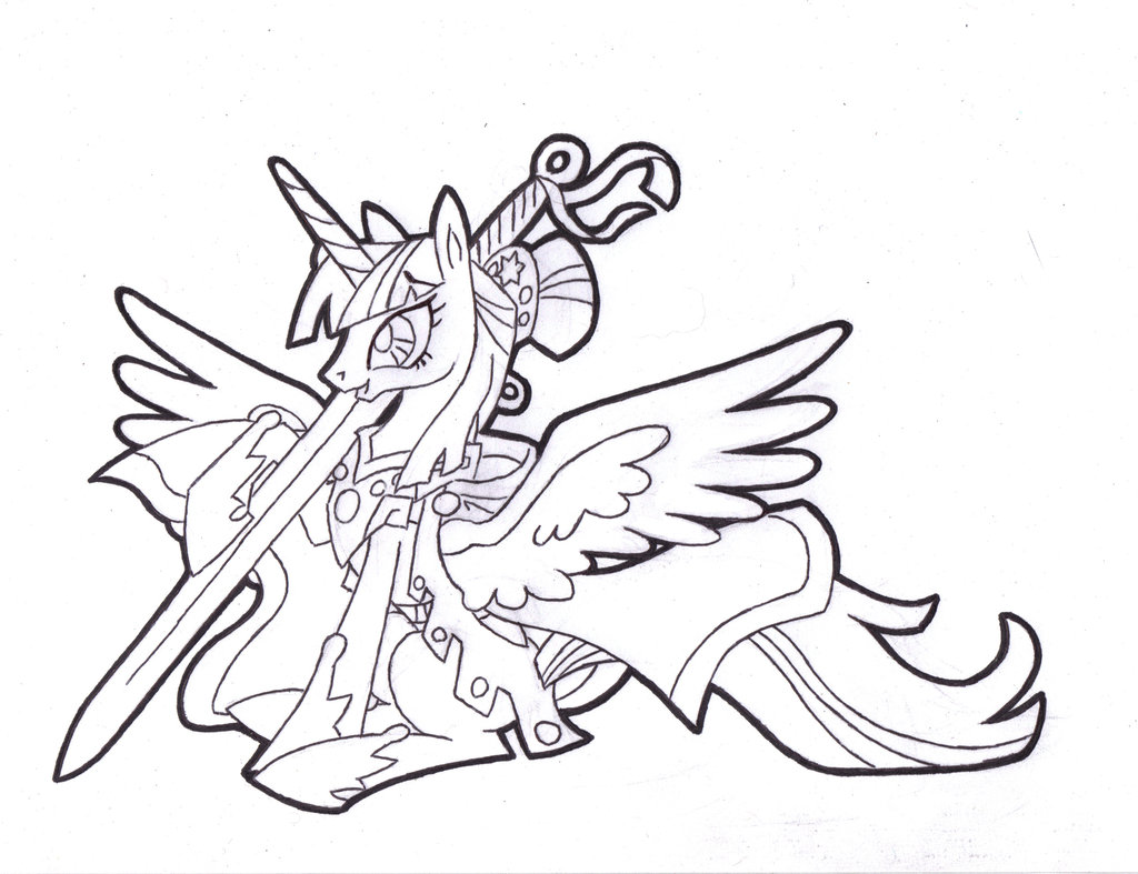 Princess Twilight Sparkle Drawing at GetDrawings | Free ...