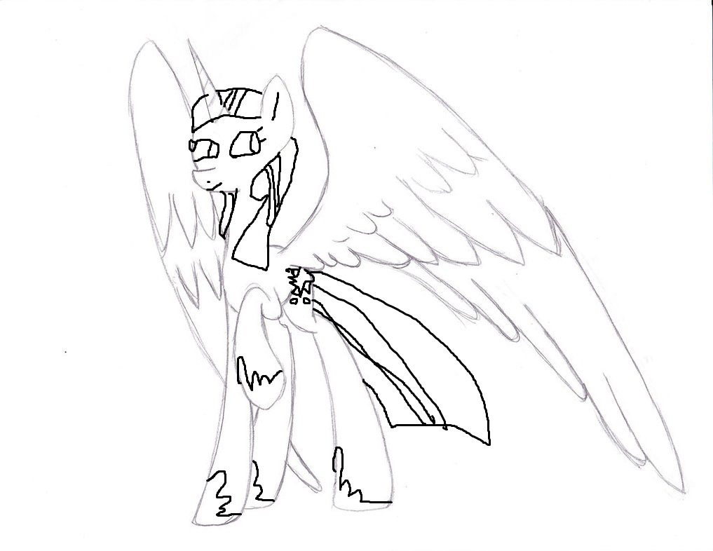 Princess Twilight Sparkle Drawing at GetDrawings.com | Free for ...